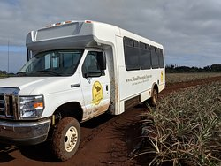 tour van for the fields