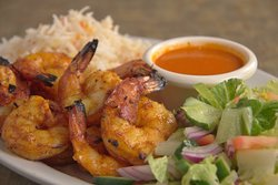 Tandoori Prawns @ Spice Hut Indian Cuisine.