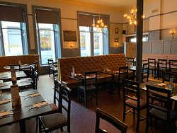 Back room available for private dining