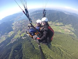 Paraworth Tandem Paragliding