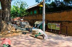 Wat Chai Watthanaram - Mittagspause