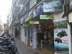 This is our Oficial ticket shop in San Antony (Ibiza). Adress :Carrer del Progres N 2