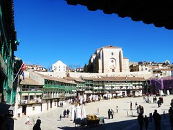 Plaza mayor de Chinchon