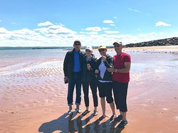 Enjoy a walk on the ocean floor at low tide Annapolis Valley