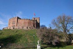 Tamworth Castle on a Sunny February Day