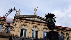 Different details and shots of the beautiful National Theater of Costa Rica. highly recommended