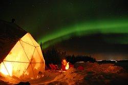 Polarman's Camp and Snow Igloo Adventure!