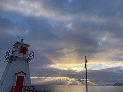 Sunrise lkighthouse