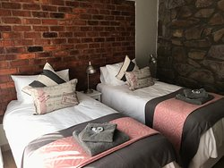 Our one King size or 2 Single bedroom on-suite