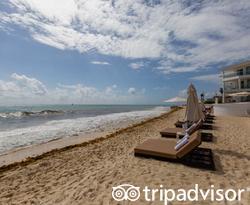 Beach at the Playacar Palace