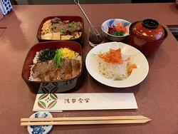 Excellent sukiyaki and service
