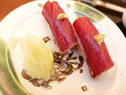Marinate Maguro Sushi