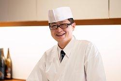 Sushi chef Sato.