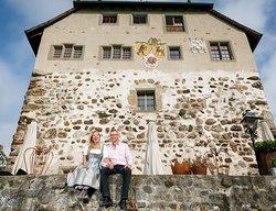 Wir sind Schloss! Brigitte und Daniel Schneider