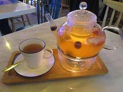 熱水果茶暖笠笠又順喉