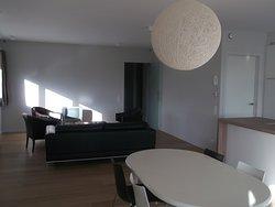 grote suite kamer (met living)