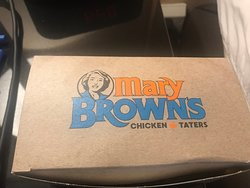 Mary Brown's Takeout Box