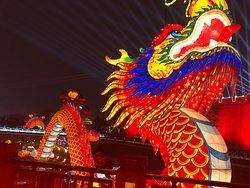 Xi'an City Wall Light Show