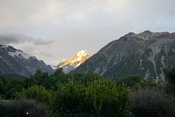 Mt Cook view from The Panorama