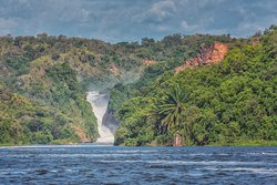 Murchison Falls, the bottom of the falls