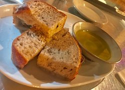 DelrayBeach Tapas35  Fresh Baked Bread and Oil