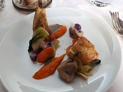 Le fameux pigeon et ses légumes