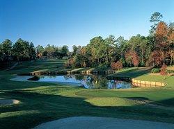 Signature hole at TimberCreek Golf Club #7 Dogwood Course.