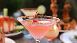 Tanji Patton's favorite martini! Can you guess what it is?