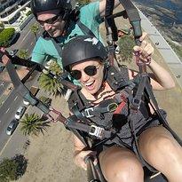 Icarus Tandem Paragliding Cape Town