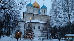 Christmas in the monastery