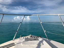 Heading out on a perfect day in paradise