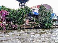 Longboat travel on the Klongs