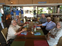 Late lunch on arrival at the Taj Holiday Village !