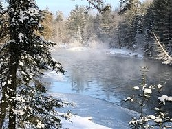 View of the Au Sable River