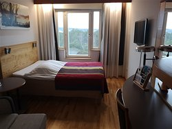 Nice hotel close to the skiing area