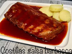 COSTILLAS BARBACOA