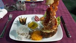 Mixte langouste/crevettes