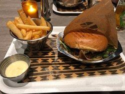 Meget smakfull og god burger!