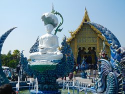 Wat Rong Seur Ten (Blue Temple)