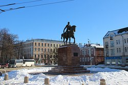 Monument to the Prince Oleg Ryazanskiy