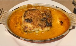 """Best Greek restaurant in town Try the moussaka or the """"gratin dauphinois """""""