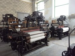 Some of the machines in the factory.