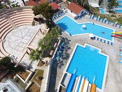 Water Park - Pool areas and Amphitheatre