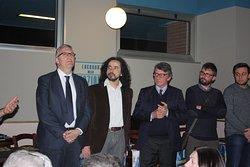 Cena Primarie 2019 Ospiti Vice Presidente Parlamento Europeo David Sassoli  Presidente Regione Marche Luca Ceriscioli