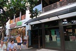 Monkeypod Kitchen Restaurant entrance