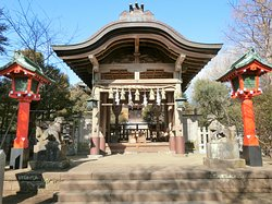 奥津宮拝殿