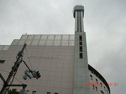 103m展望台のタワー