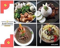Mana pilihanmu kawan, dari 4 menu favorit paling laku di @BABTHIES . Lalu order di Go food, ketik BABTHIES  Langsung deh order, di tunggu ya