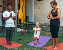 Have your little ones enjoy our specially designed yoga for kids every Monday, Wednesday, and Saturday at 10.30AM. It is a perfect activity to enjoy the best of your stay at #grandmirageresort   Visit us here for more information https://www.grandmirage.com/en/activities/kids-facilities.php