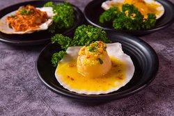 Hokkaido Scallops - Butter Garlic